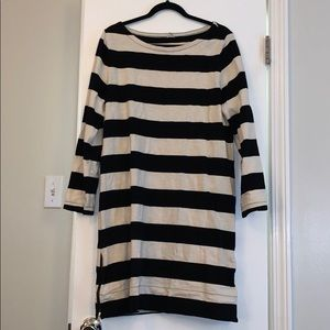 J. Crew: Long sleeve oversized dress